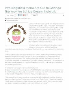 HamletHub (October)_ Two Ridgefield Moms Are Out to Change The Way We Eat Ice Cream, Naturally_Page_1